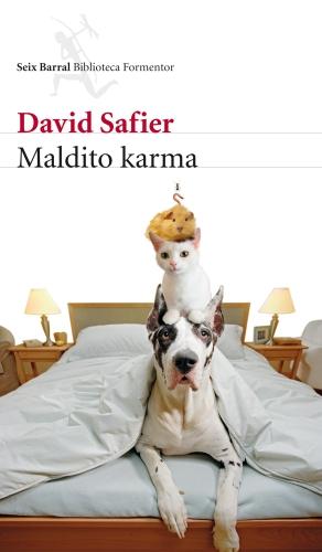 Portada de Maldito Karma, David Safier