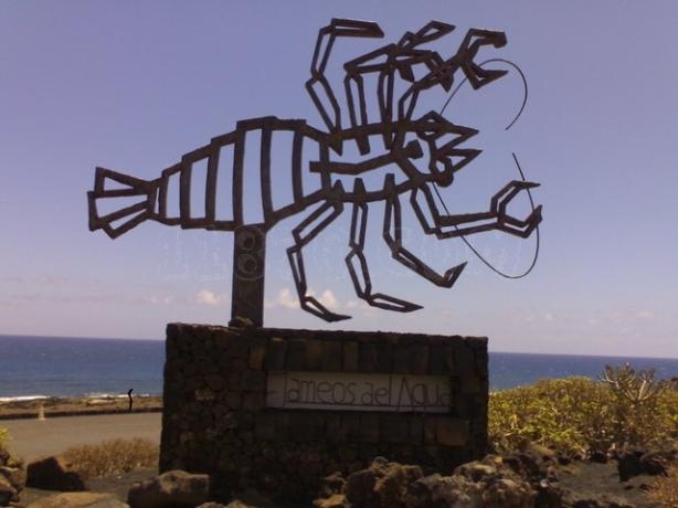 El cangrejo, todo un emblema en Lanzarote