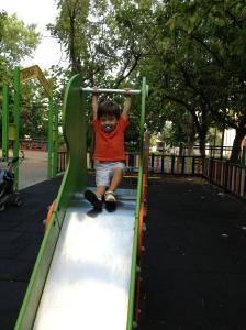 niño parque