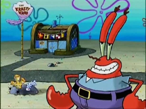 ¡Directito desde el mar, el señor cangrejo!