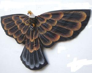 Cometa con forma de águila