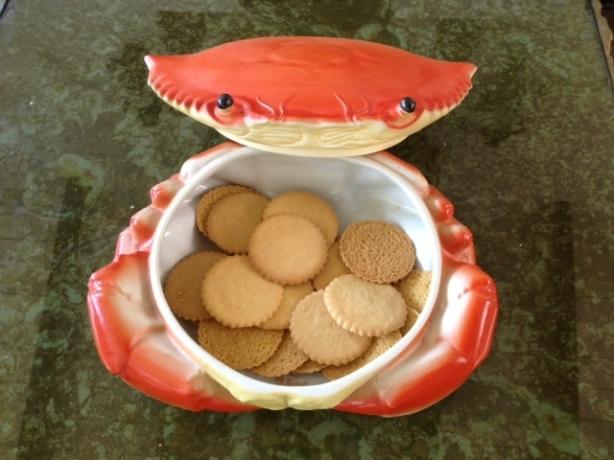 Bombonera con forma de galletas