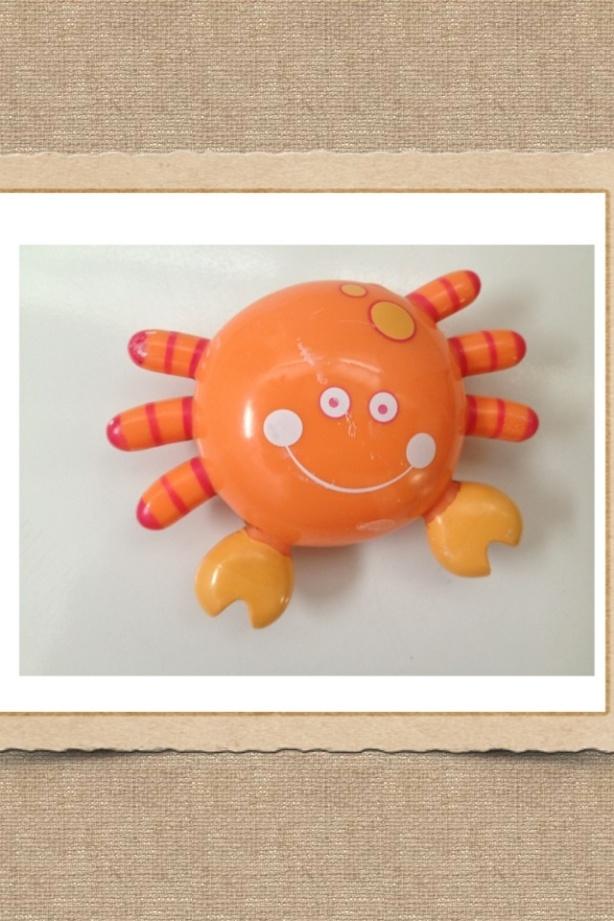 Foto de un cangrejo de juguete