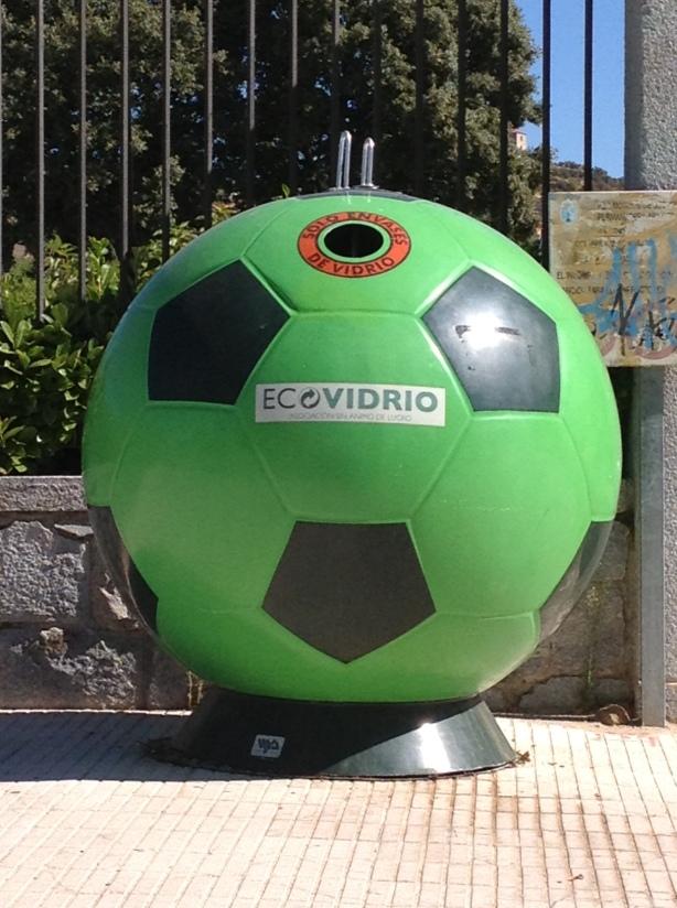 contenedor balón